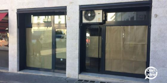 La Pantofola di piazza XX Settembre ha chiuso i (© Diario di Udine)