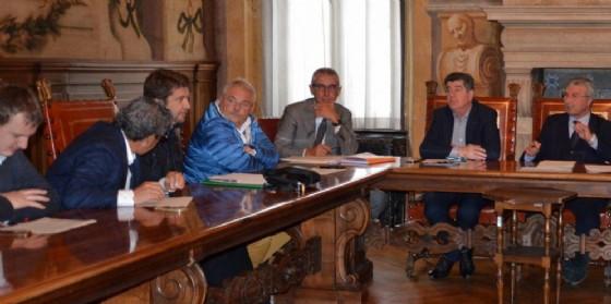 L'incontro in Provincia con i sindaci (© Provincia Udine)