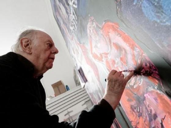 Dario Fo pittore protagonista a Casa Cavazzini (© Udine)
