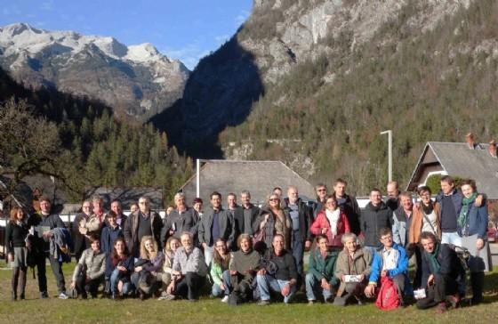 Lo staff dei due parchi alpini (© Regione Friuli Venezia Giulia)