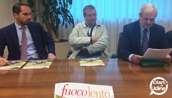La presentazione di Fuocolento (© Diario di Udine)