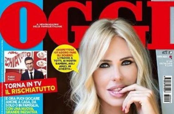 La copertina di «OGGI» con Ilari Blasy (© OGGI)