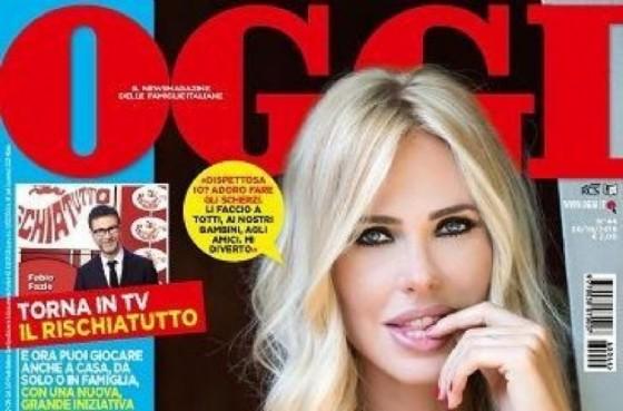 La copertina di «OGGI» con Ilari Blasy