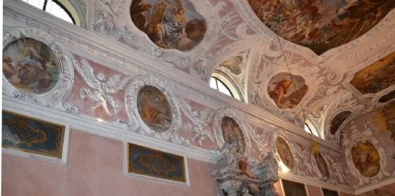 Gli affreschi del Quaglio che saranno restaurati (© Provincia Ud)