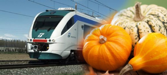 Torna il treno della zucca per la festa di Venzone (© Diario di Udine)