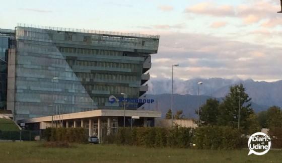La sede dell'Hypo Bank a Tavagnacco (© Diario di Udine)