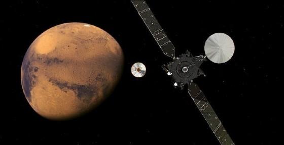 Schiaparelli, un crash per la missione ExoMars?