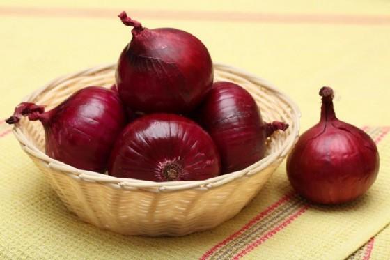 Cipolle rosse contro il cancro ovarico