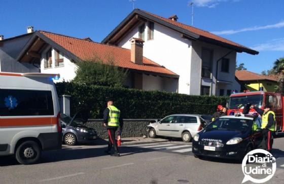L'incidente di via Marsala (© Diario di Udine)