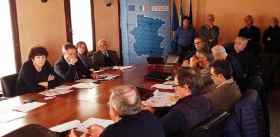 Il vertice in Regione per Ideal Standard (© Regione Friuli Venezia Giulia)