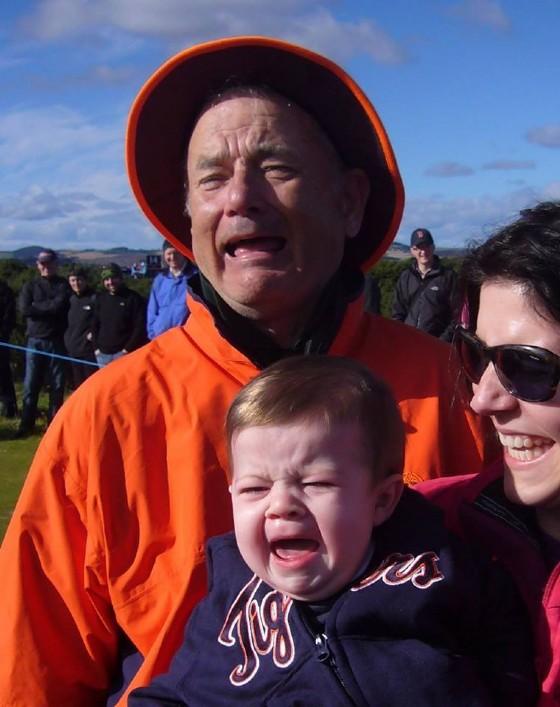 Tom Hanks o Bill Murray? Chi è l'attore ritratto nella foto? (© Laura DiMichele-Ross)