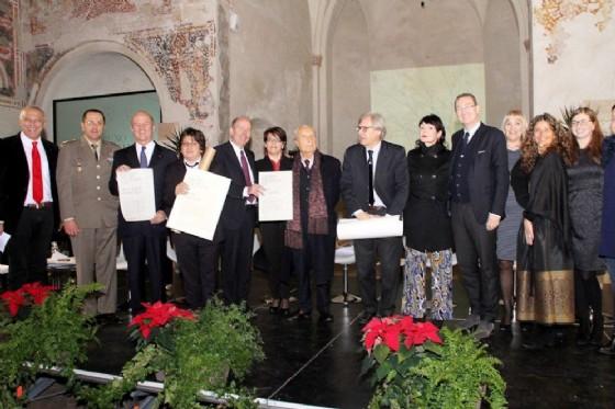 Le premiazioni del premio Cavallini