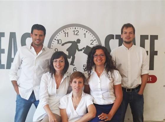 Il gruppo di lavoro di EasyStaff (© Ditedi)