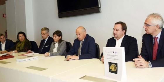 La presentazione dei risultati della mostra ad Aquileia (© Regione Friuli Venezia Giulia)