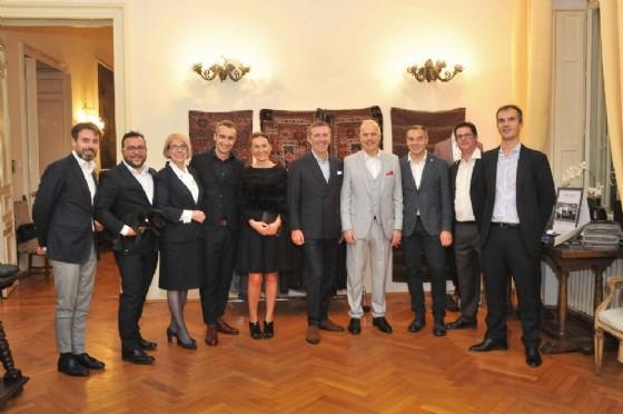 La delegazione italiana a Bucarest