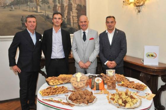 Paolo Drago, Alessandro Zogno, Diego Brasioli e Simone De Mori