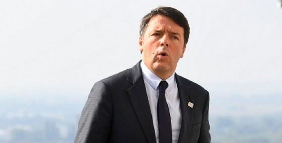 Il presidente del Consiglio, Matteo Renzi. (© Joeklamar   Afp.com)
