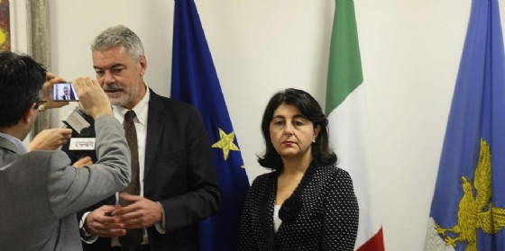 Gli assessori Panontin e Santoro (© Regione Friuli Venezia Giulia)