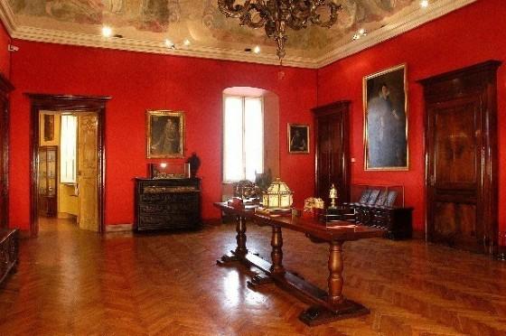 Sala Rossa di Palazzo Langosco
