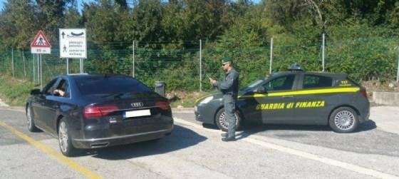 Guardia di finanza a Gorizia