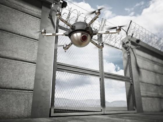 Evadono dal carcere con l'aiuto di un drone (© gualtiero boffi | shutterstock.com)