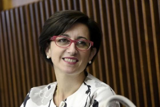 L'assessore regionale Sara Vito