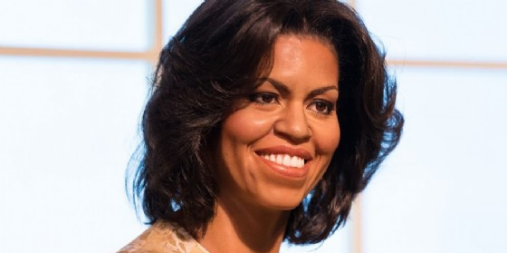La First Lady Michelle Obama.