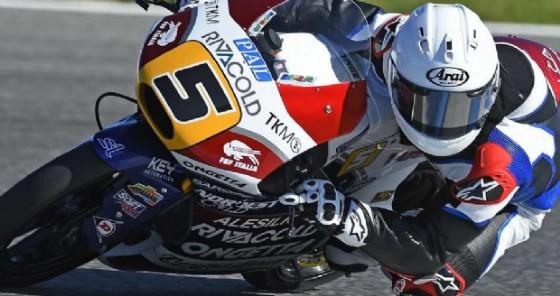 Romano Fenati in azione nei test di Jerez (© Ongetta)