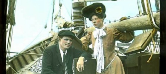Jack e Charmian London (© Teatro Miela)