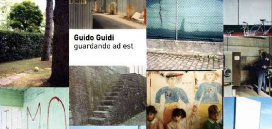 Il manifesto della mostra di Guidi