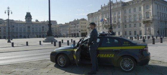 La Guardia di finanza di Trieste