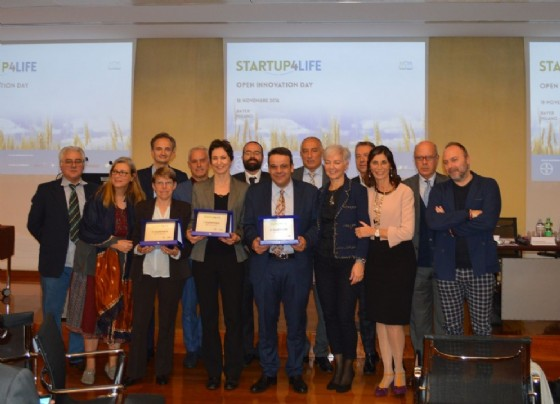 Le startup che hanno vinto Startup4life (© Credits photo courtesy of Startup4life)