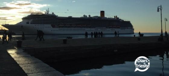 Grandi navi a Trieste (archivio)