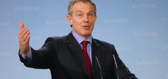 L'ex premier inglese Tony Blair