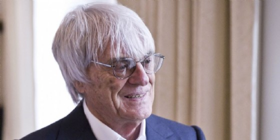 Il patron della Formula 1 Bernie Ecclestone (© Red Bull)