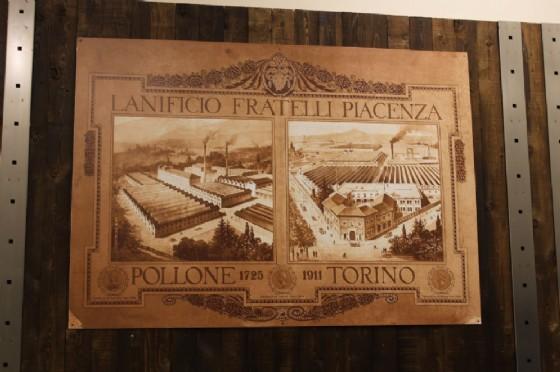 Un particolare dell'allestimento del negozio Piacenza