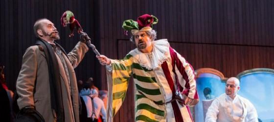 """Una scena dal """"Rigoletto"""""""