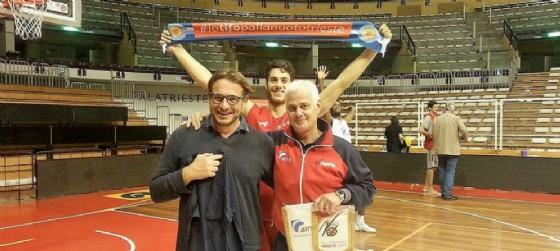 Stefano Piccardo, Andrea Coronica ed Eugenio Dalmassons (© Alma Trieste)