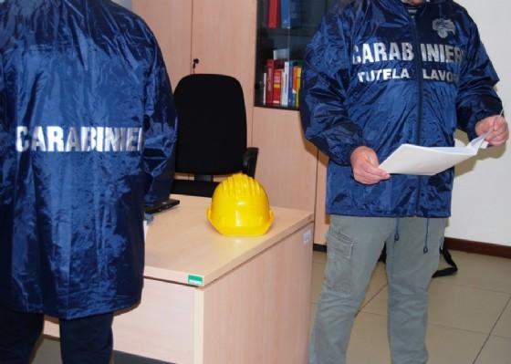 Carabinieri in attività