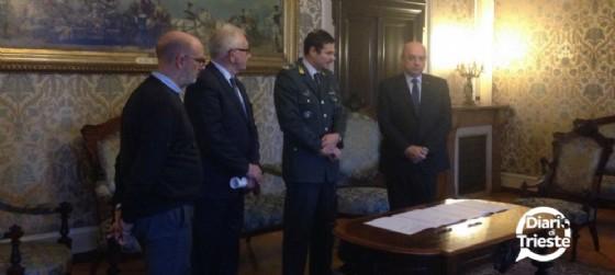 Carlo Grilli, Giorgio Rossi, Giovanni Padula e Roberto Dipiazza