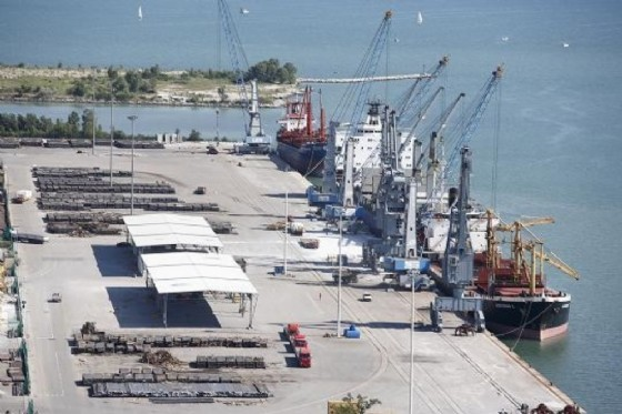 Il porto di Monfalcone (© Porto Monfalcone)