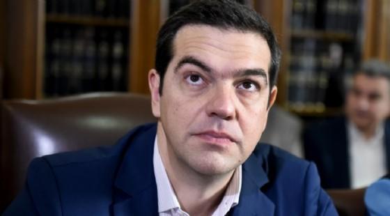 Il premier greco, Alexis Tsipras.
