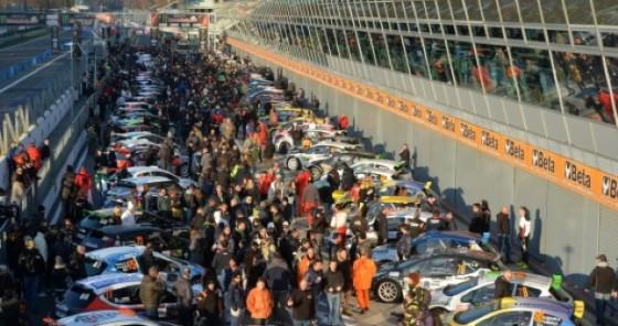 Il parco partenti del Rally di Monza (© Luca Renoldi)