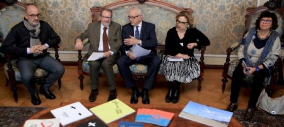 Carlo Grilli, Nicola delli Quadri, Giorgio Rossi, Roberta Balestra (© Comune di Trieste)