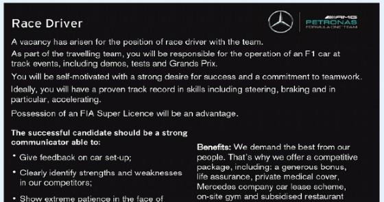 F1, Valentino Rossi: