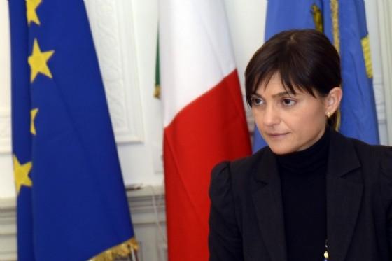 Debora Serracchiani scoppia in lacrime: