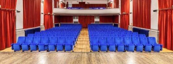 La sala del Teatro Italia di Pontebba (© Ert Fvg)