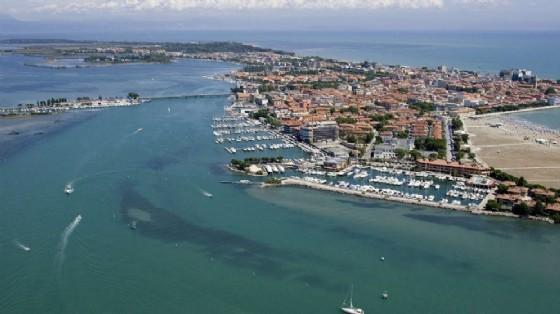 Un'immagine di Grado dall'alto (© Turismo Fvg)