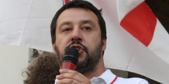 Il leader della Lega Matteo Salvini. (© Davide Calabresi / Shutterstock.com)