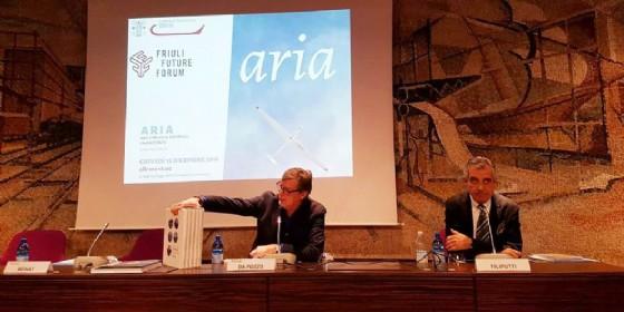 La presentazione del libro 'Aria' (© Cciaa Udine)